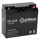 Аккумулятор Optimus OP-1218 (12В, 18Ач)